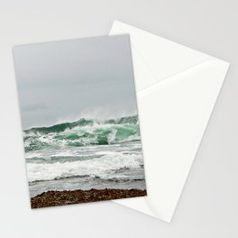 Explosive Green Surf of the St-Lawrence Stationery Cards