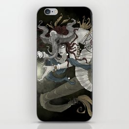 The sea witch iPhone Skin
