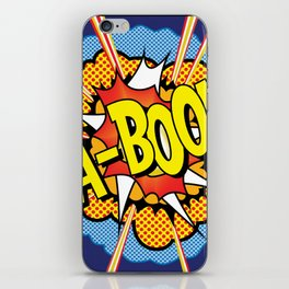 Ka Boom Pop Art iPhone Skin