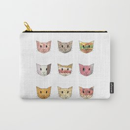Food & Cats Carry-All Pouch
