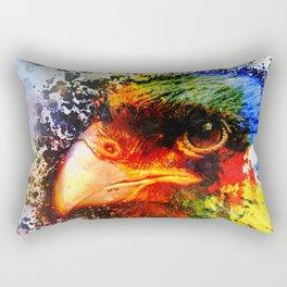 Harris Hawk Pop Art  Rectangular Pillow