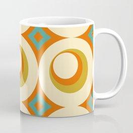 Mid-Century Modern Orange Coffee Mug