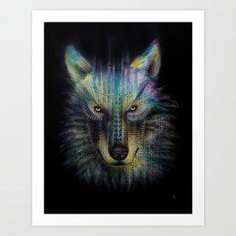 wolf_1 Art Print