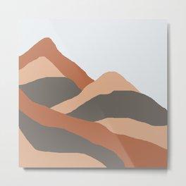 MOUNTAIN BOG Metal Print