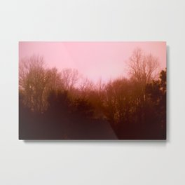 Pink Tree 3 Metal Print