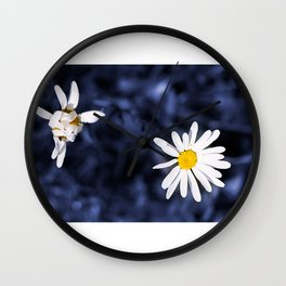 Open and closed - Universe Wall Clock