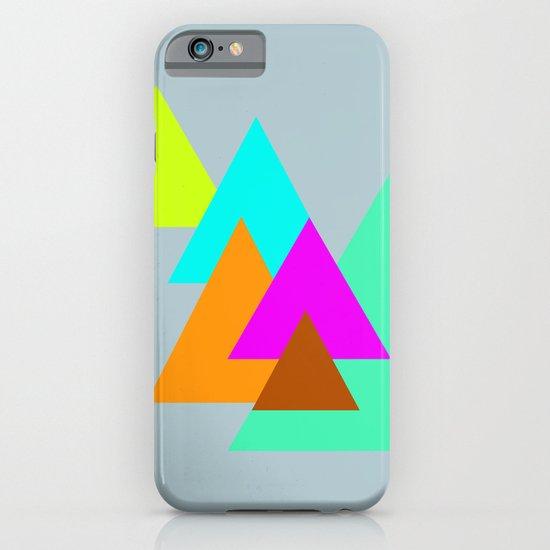 Triangles - neon color scheme series no. 2 iPhone & iPod Case