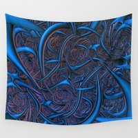 nightmare Wall Tapestries featuring Nightmare by Lyle Hatch