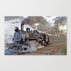Old steam locomotives II Canvas Print