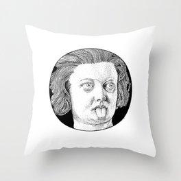 Costanza's Tongue Throw Pillow