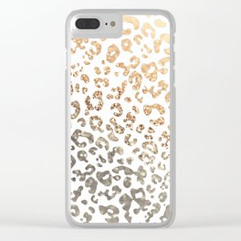 GOLD LEO Clear iPhone Case