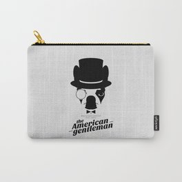 Boston Terrier: The American Gentleman. Carry-All Pouch