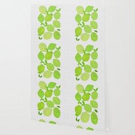 Lime Crowd Wallpaper