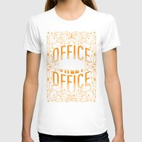 the office T-shirts featuring Office Sweet Office by Roberlan Borges