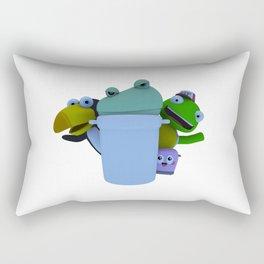 Trash Can! (W) Rectangular Pillow