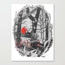 The Story Tree Canvas Print