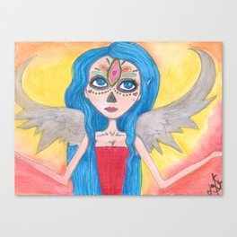 Day of the Dead Angel Canvas Print