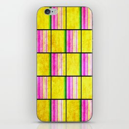 Checkered Pattern iPhone Skin