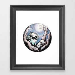 Forest Mama Framed Art Print