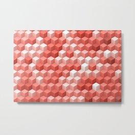 Living Coral Pattern V Metal Print