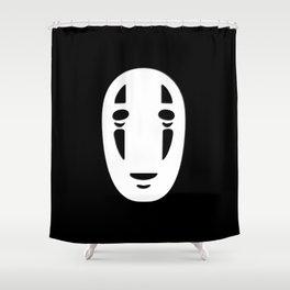 Minimal Cinema - Kaonashi/Spirited Away Shower Curtain