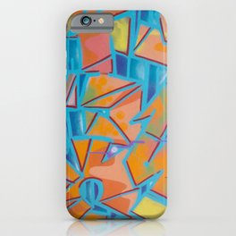 graffiti / street art artwork pattern iPhone Case