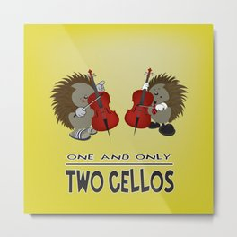 two cellos Metal Print
