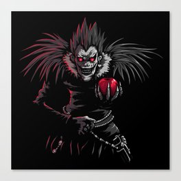 Ryuk by night Canvas Print
