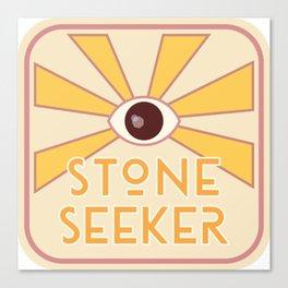 Stone Seeker Canvas Print