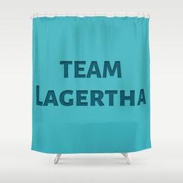 Team Lagertha Shower Curtain