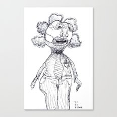 Wendell Can't Wait Until Tomorrow, Casual Friday Canvas Print