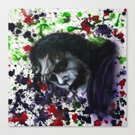 Colour Chaos Canvas Print