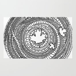 Canadian Maple Rug