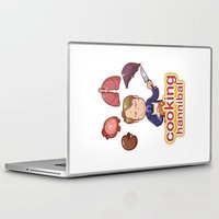 cooking Laptop & iPad Skins featuring Cooking Hannibal by Sabrina Cotugno