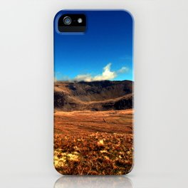 Snowdon Savanna iPhone Case