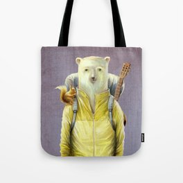 bear-tourist Tote Bag