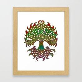 Celtic Knot Tree of Life Framed Art Print