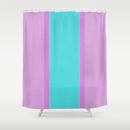 Re-Created Interference ONE No. 25 by Robert S. Lee Shower Curtain