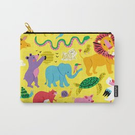 Animal Parade Carry-All Pouch