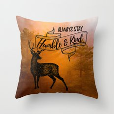 Humble & Kind Throw Pillow