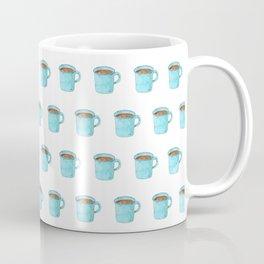 Blue Enamel Coffee Mug Coffee Mug