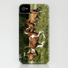 Spring Horse Run Slim Case iPhone (4, 4s)