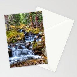 Colorado Waterfall Stationery Cards
