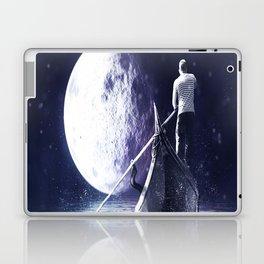 Moon gondolier Laptop & iPad Skin