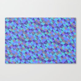 Triangle Effect Canvas Print