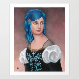 Frederica of Vienwray Art Print
