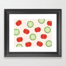 Veggies Framed Art Print