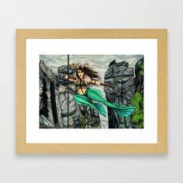 Pole Stars - CAPRICORN Framed Art Print