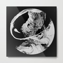Insane Moon Metal Print