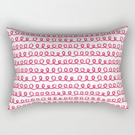 LOOP DE LOO Rectangular Pillow